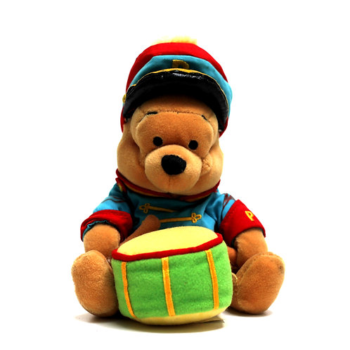 "Disney 'Bandleader Pooh' 8"" Bean Bag Soft Toy"