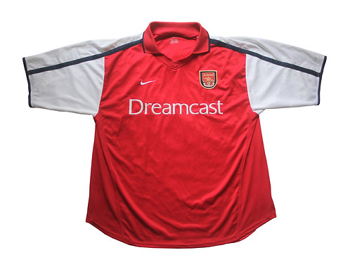 Arsenal Nike Home Shirt 2000/02 - XL