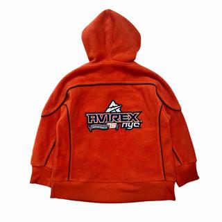 Avirex 'NYC' Fleece Hoodie - Fits Children