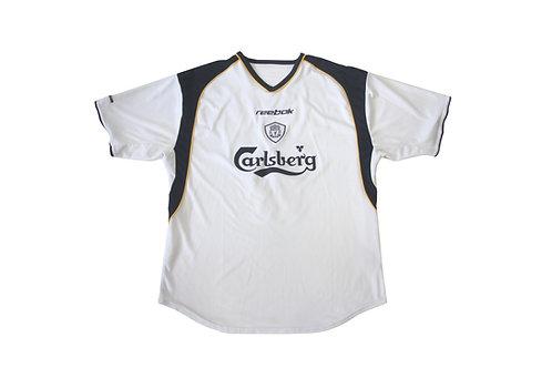 Liverpool Reebok Away Shirt 'Gerrard 17' 2001/03 - M/L