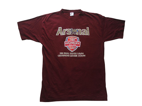 Arsenal 'The Final Salute' T-Shirt 2006 - L