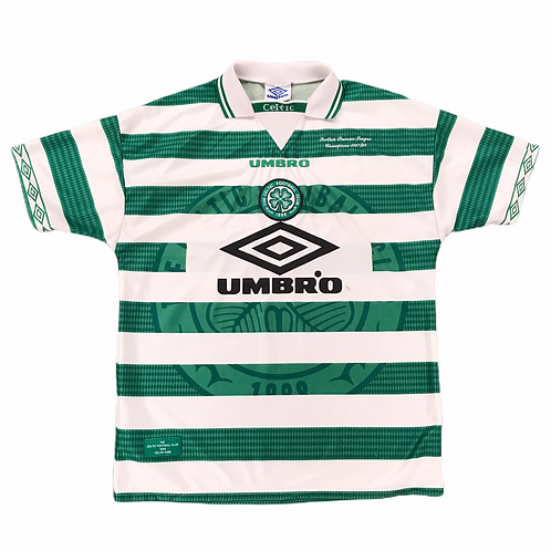 Celtic FC Umbro 1998/99 Home Shirt - L