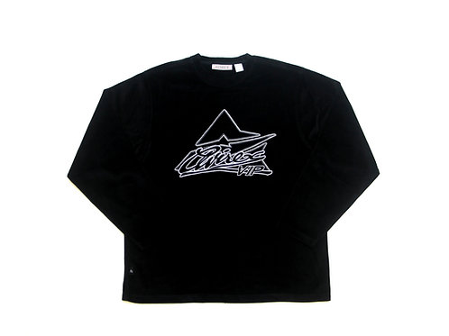 Avirex 'VIP' Velour L/S Lightweight Sweatshirt - XL