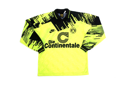 Borussia Dortmund Nike Home Shirt 1993/94 - S
