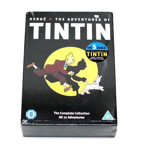 TinTin 'The Complete Collection' DVD
