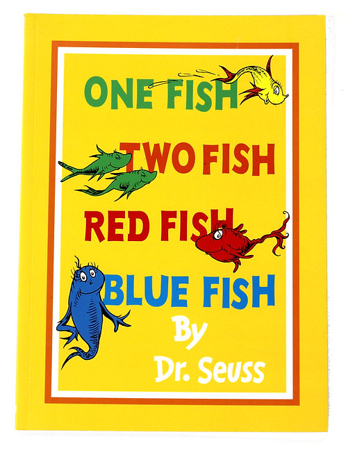 'One Fish Two Fish Red Fish Blue Fish' by Dr. Seuss