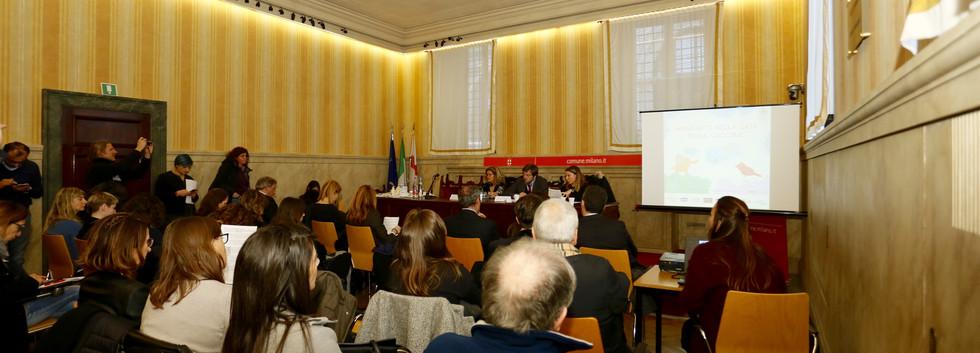 Conferenza Stampa Palazzo Marino 11 genn