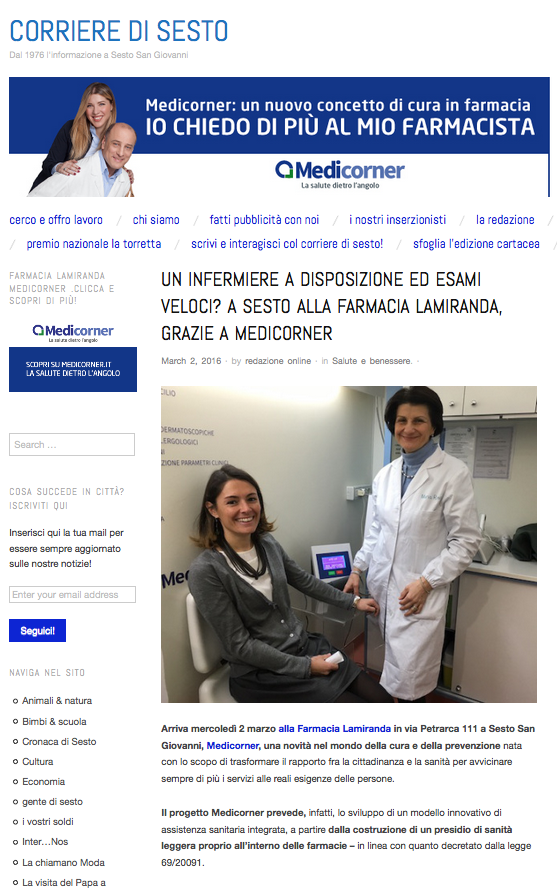 2 marzo_corriere sesto_prima pagina
