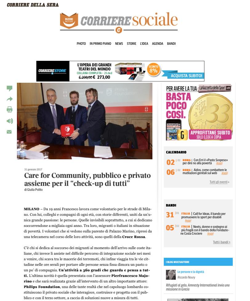 6. Corriere Sociale 1 - 31 gennaio 2017 copia
