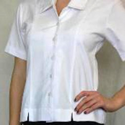 BLOUSE WITH TWO FRONT SPLITS