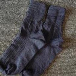 Devon Navy Ankle Socks
