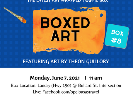 Eighth Art Wrapped Traffic Signal Box Scheduled to be unveiled on June 7th