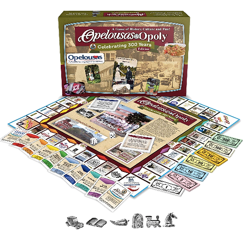 Opelousas-Opoly Board Game
