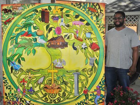 Opelousas Tree of Life Mural