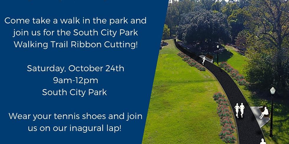 Walking Trail Ribbon Cutting