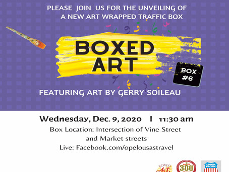 Sixth Art Wrapped Traffic Box Scheduled to be Unveiled in Opelousas