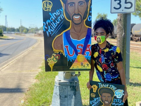 Fourth Art Traffic Box Unveiled in Opelousas