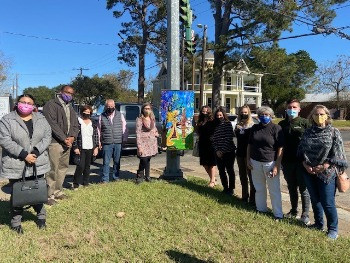 Sixth Art Wrapped Traffic Box Unveiled in Opelousas