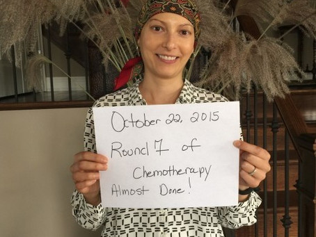 Amie's Breast Cancer Journey # 26 October 22, 2015