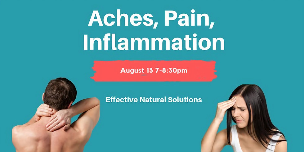 Aches, Pain, Inflammation