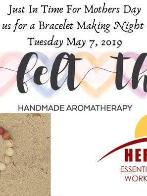 Just In Time For Mothers Day Join us for
