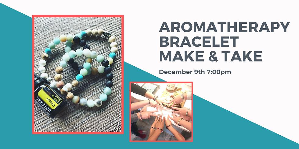 Aromatherapy Bracelet Make &Take