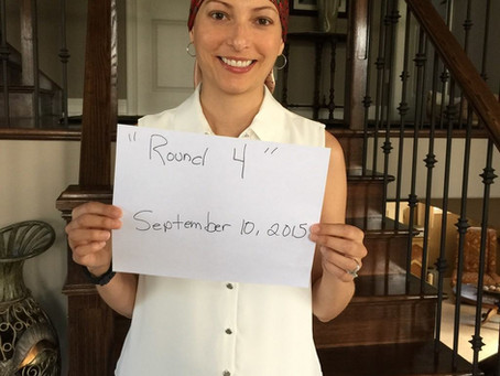 Amie's Breast Cancer Journey #22 September 10, 2015