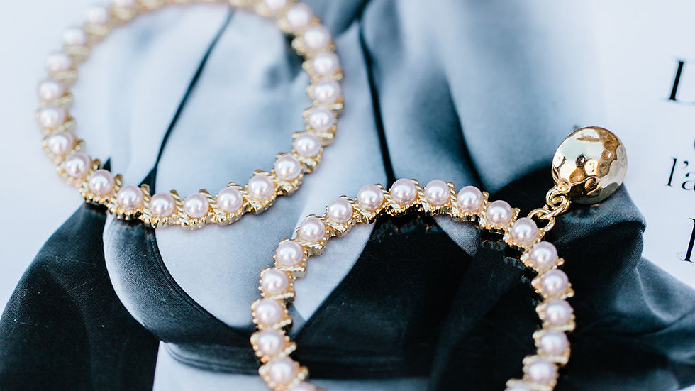 Gold & Pearl Drop Earnings