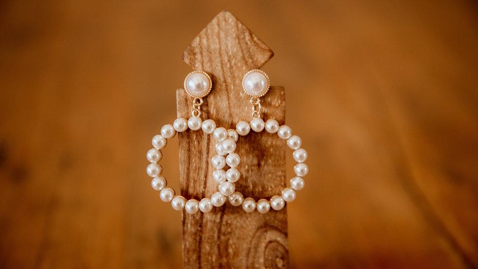 Pearl Goddess Earrings