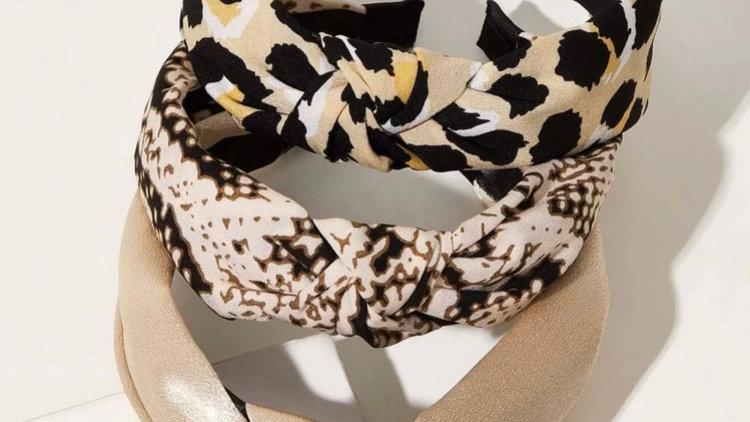 Variety Printed knot Alicebands