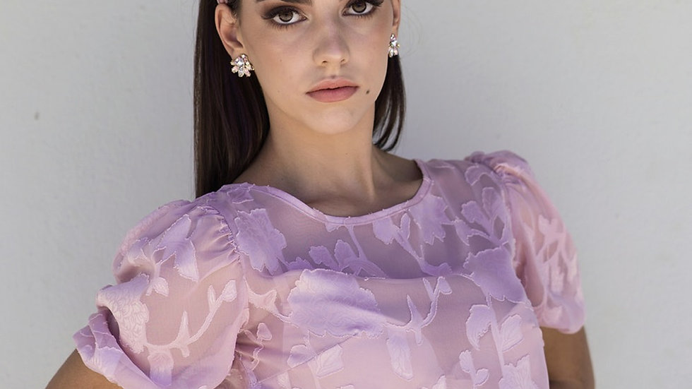 The Pink Blossom | Blouse
