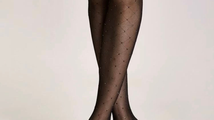 Plaid Pattern Stockings