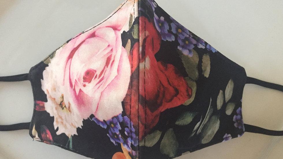 Black Blossom Mask