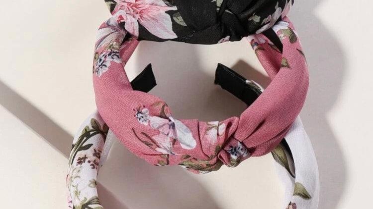 Flower Pattern Aliceband