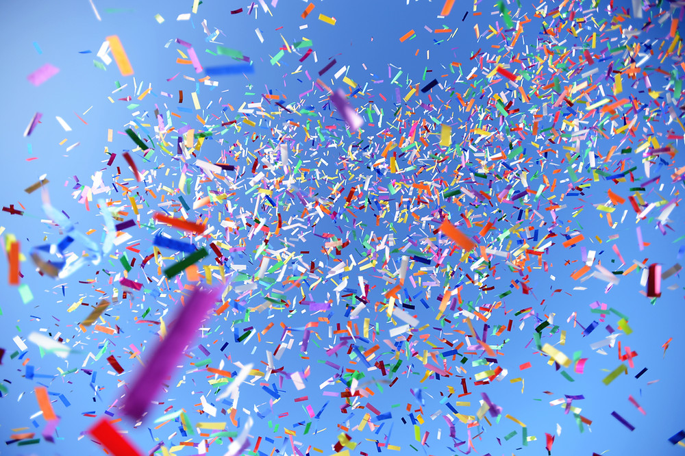 confetti celebration!