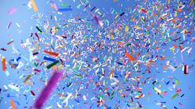 On sort les confettis!