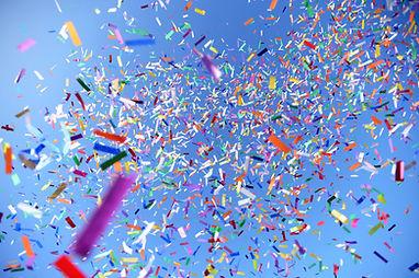 RayKen Events DJ Schweiz Suisse Switzerland Confettis Konfettis