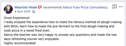 Pizza chefs Review Manchester