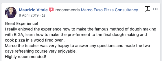 Pizza Training Review Manchester