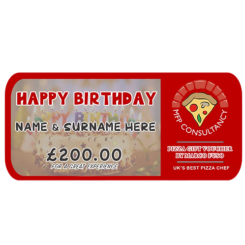 BIRTHDAY VOUCHER - £200
