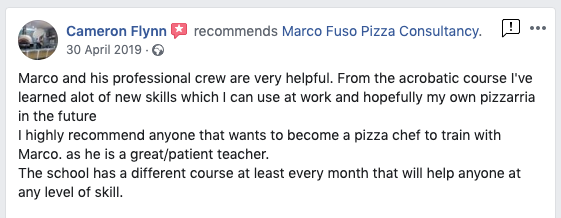 Review Pizza Course Dough London