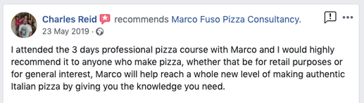 Pizza Training Review London