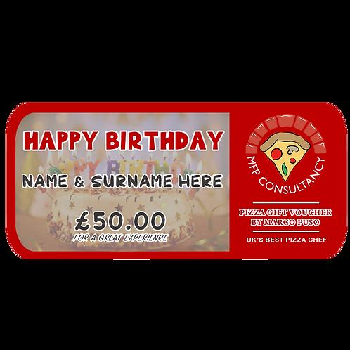 BIRTHDAY VOUCHER - £50