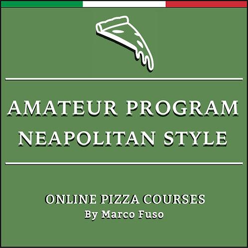 Online Pizza Class for Amateur