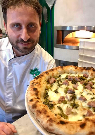 Naeapolitan Pizza Chef Marco Fuso