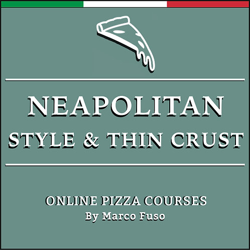 Neapolitan Online Pizza Course