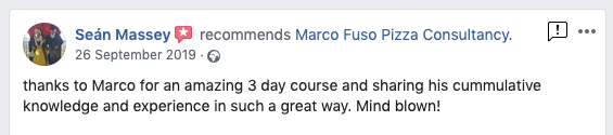 Pizza making class review
