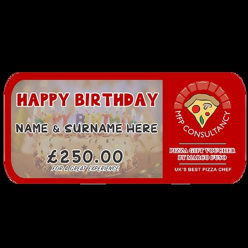 BIRTHDAY VOUCHER - £250