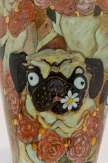 The Pug Vase (detail)