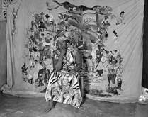 Myrlande Constant In Her Studio, Carrefour Feuilles, November 2011